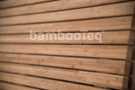 BambooTeq facade productie.