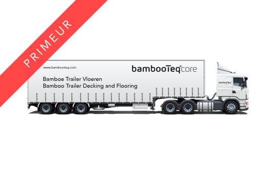 BambooTeq Trailer Bamboe Vloeren