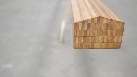 BambooTeq bamboe bovenleuning voor bruggen.