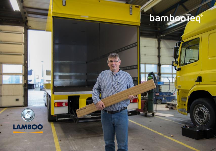 Lamboo Bamboo trailer flooring.