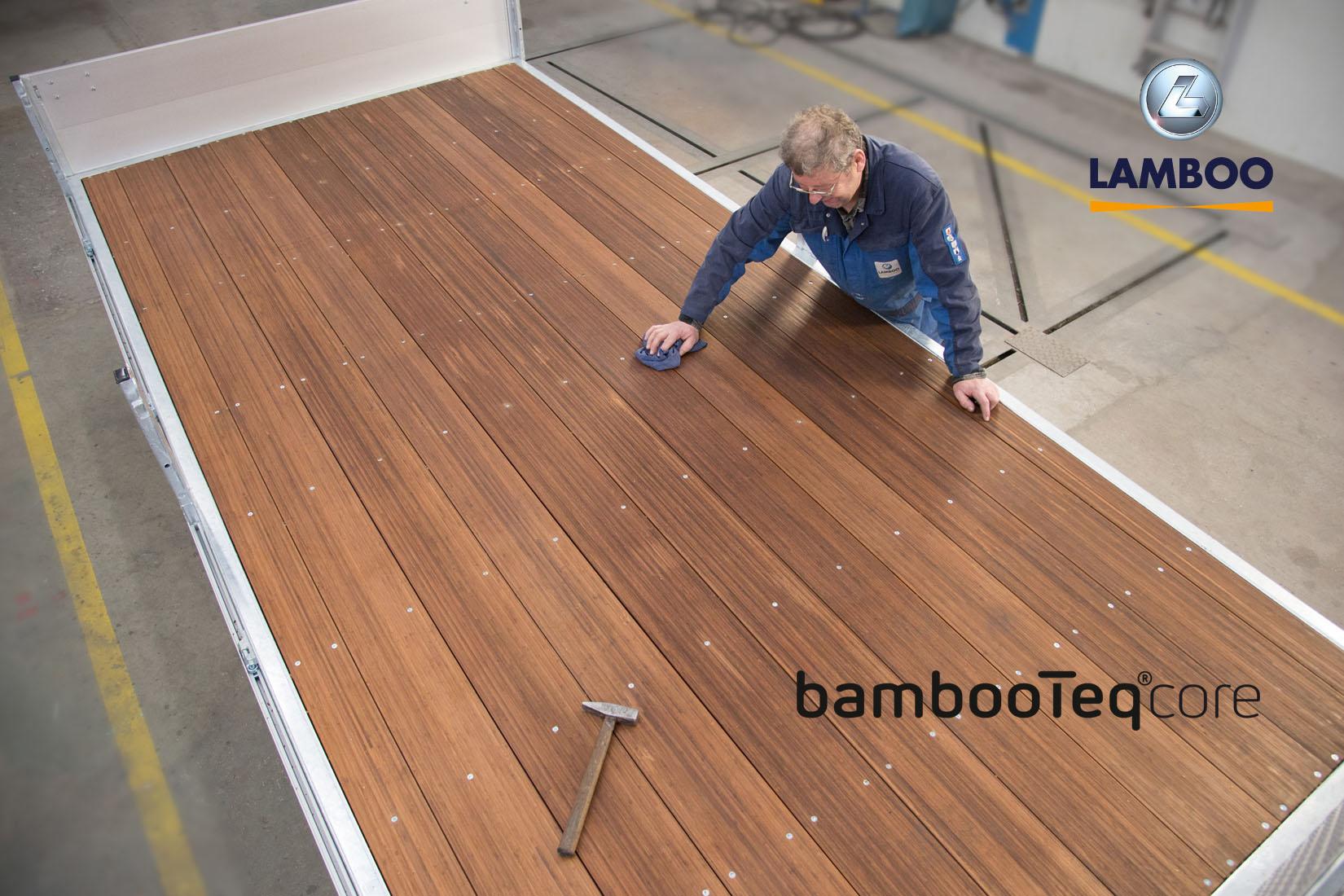 Lamboo levert eerste BambooTeq® bamboevloer
