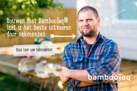 Kies altijd voor vakmensen als u met bamboe gaat werken.