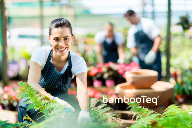 VGH leden die werken met bamboe van BambooTeq.