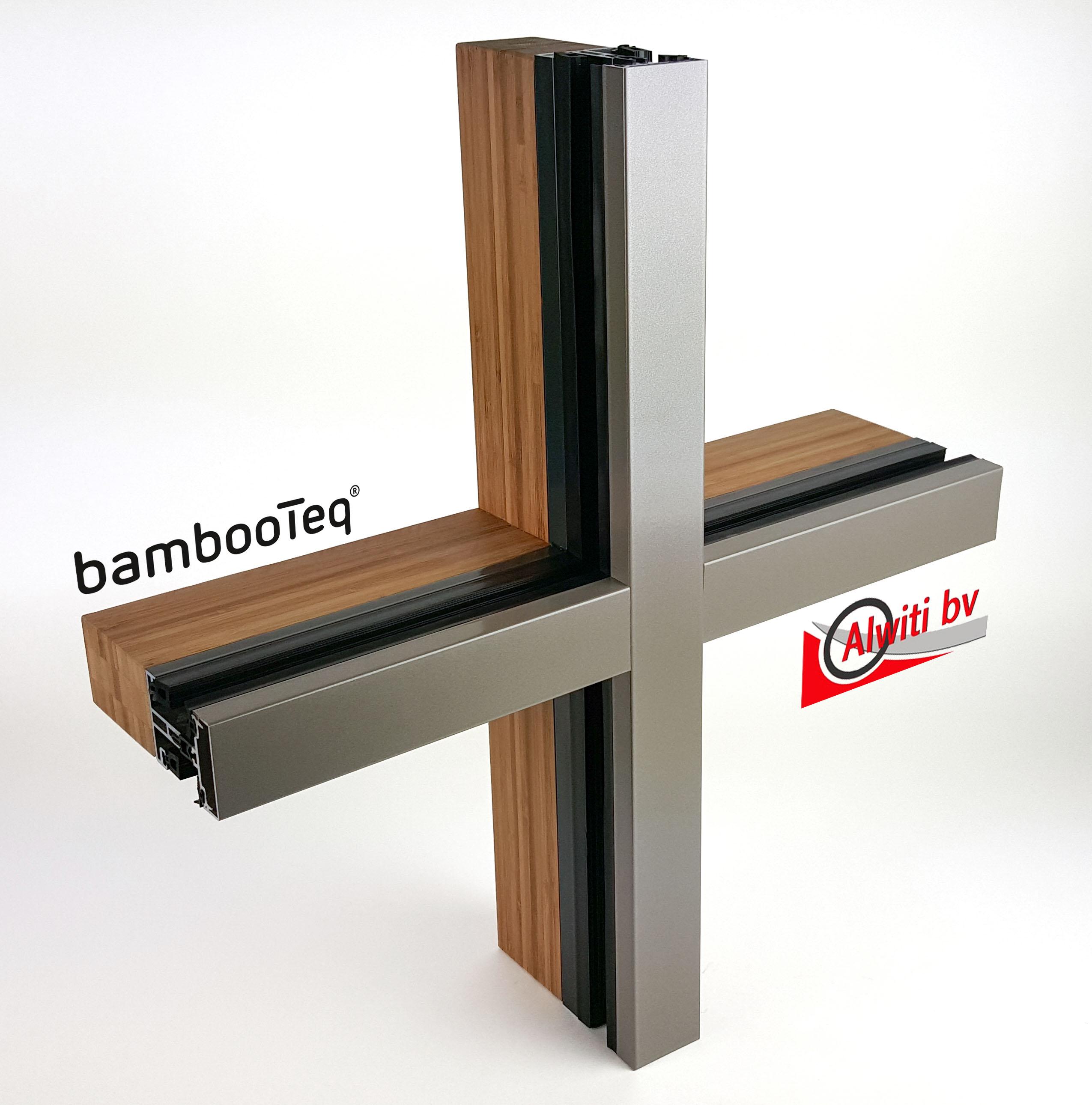 Nieuw: bamboe vliesgevel is een feit.