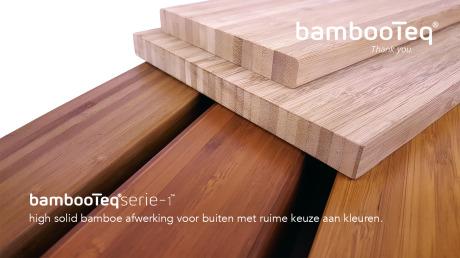 Nieuwe kleuren voor bamboe buiten.