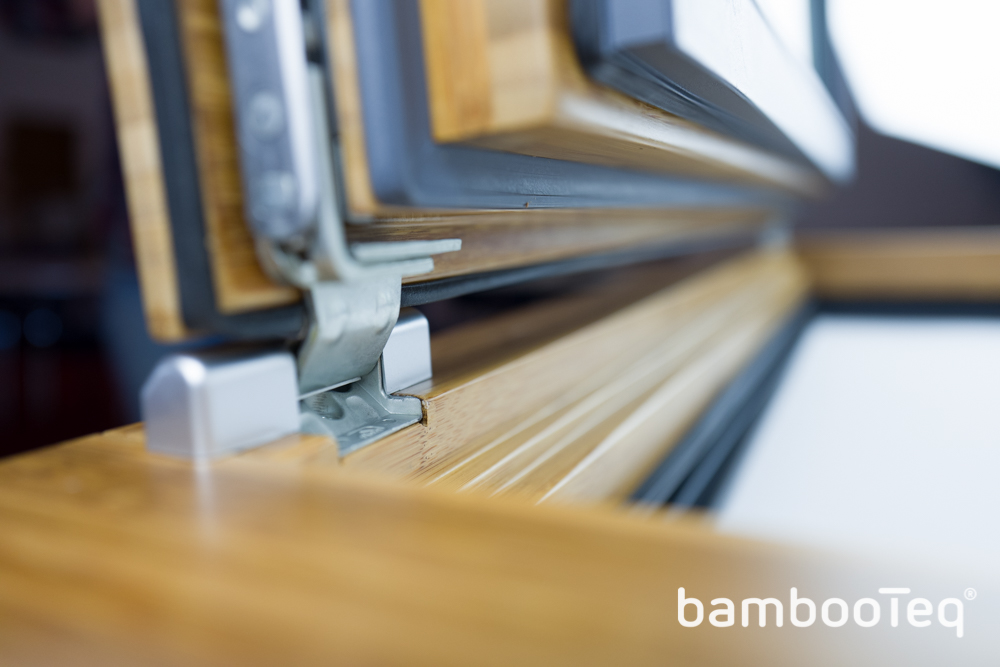 BambooTeq Tilt & Turn Bamboo Window System