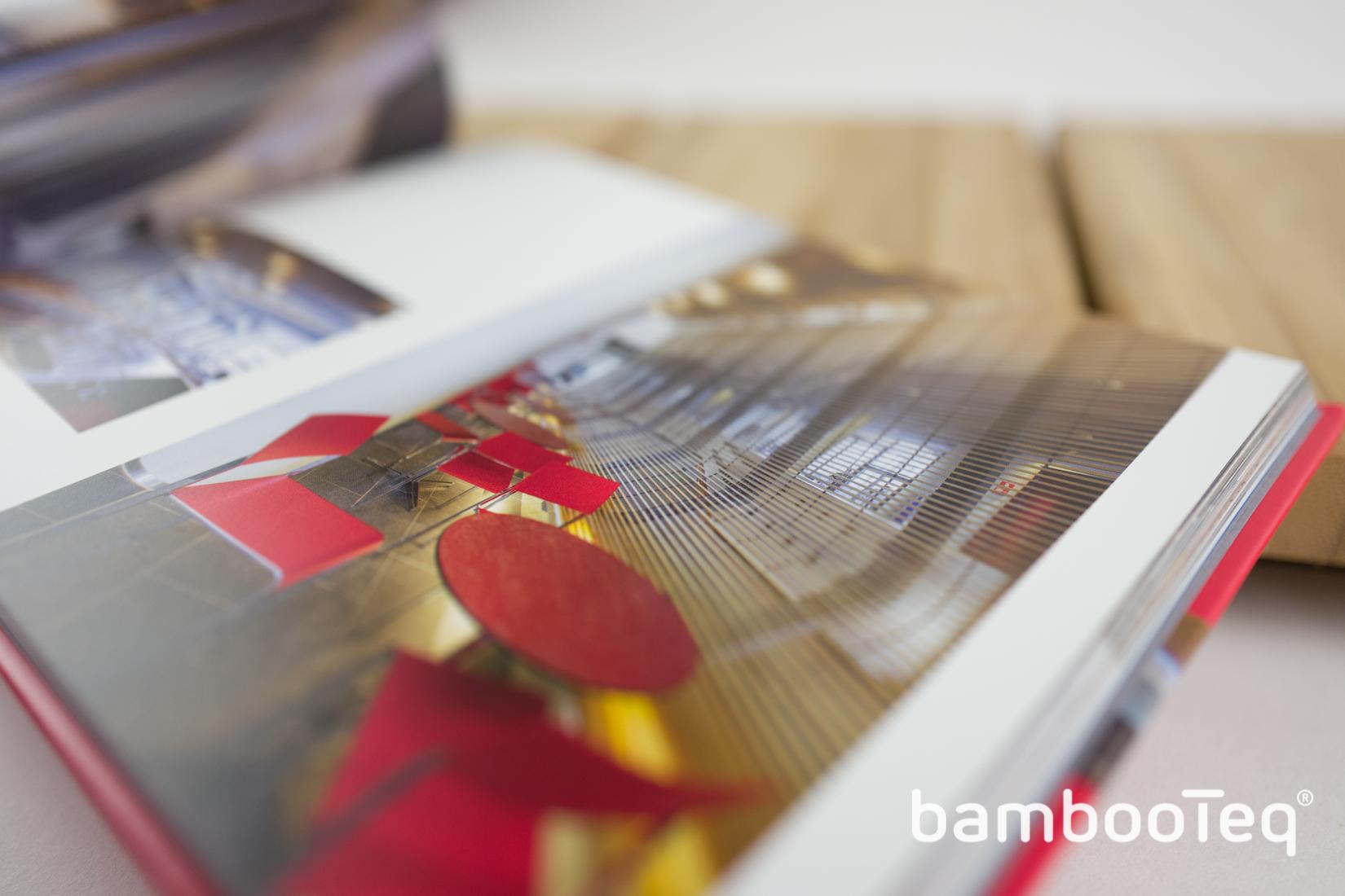 Derako plafond- en gevelsystemen voor BambooTeq