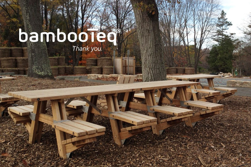 BambooTeq bamboo for Little Bennett Regional Park, Maryland