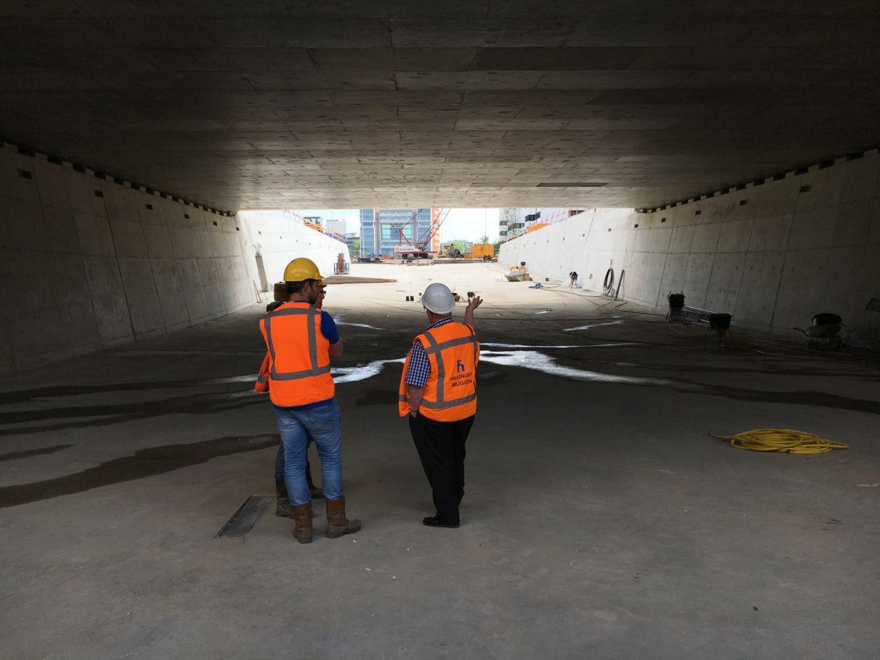 Tunnel leiden met BambooTeq Multilayer