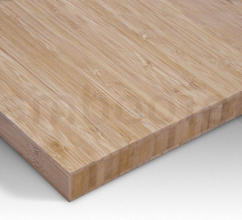 Bamboe plaat 30 mm side-pressed 3 laags caramel 244 x 122 cm