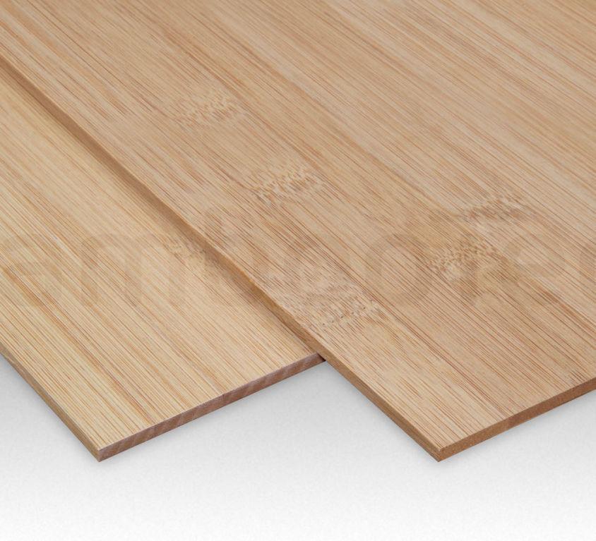Bamboe plaat 5 mm plain-pressed 1 laags caramel 244 x 122 cm