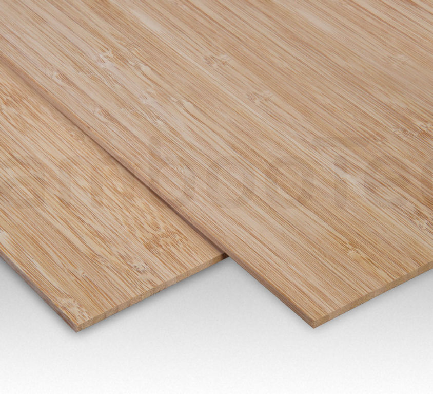 Bamboe plaat 5 mm side-pressed 1 laags caramel 244 x 122 cm