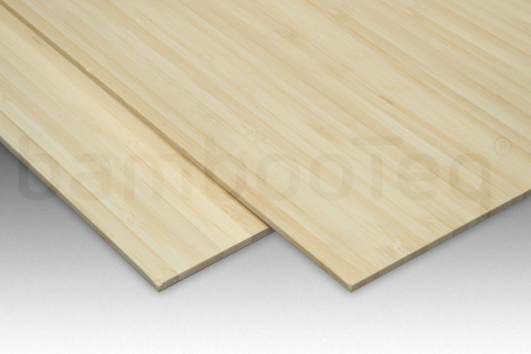 Bamboe plaat 5 mm side-pressed 1 laags naturel 244 x 122 cm