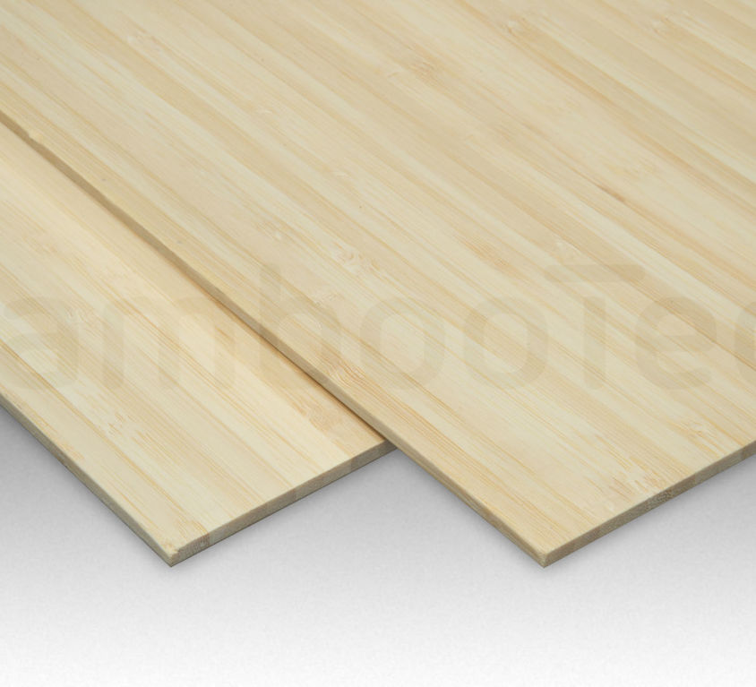 Bamboe plaat 3 mm side-pressed 1 laags naturel 244 x 122 cm