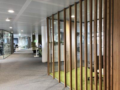 Interieurbouw met bamboo van BambooTeq